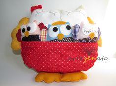 Quer dar uma #surpresa inesquecível no dia das #mães? Encomende a Almofada mãe coruja.