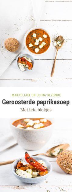 Geroosterde paprikasoep | recept – Foodie Feest