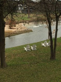 Inn on the Creek, come sit in our adirondack chairs with a nice cup of coffee or a glass of wine and listen to the creek and birds