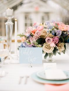 Pastel easter infused wedding table decor: http://www.stylemepretty.com/illinois-weddings/oak-park/2017/04/12/easter-inspired-wedding-shoot/ Photography: Kristin La Voie - http://kristinlavoiephotography.com/