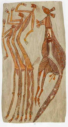 The aim of this article is to assist readers in identifying if their aboriginal bark painting is by Billy Irrwala . Aboriginal Art Animals, Aboriginal Symbols, Aboriginal Painting, Aboriginal Culture, Aboriginal Artists, Encaustic Painting, Indigenous Australian Art, Indigenous Art, Australian Painting