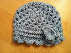 Anthro Inspired Hat free pattern by rosanne