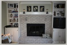 The Impact of Painting a Fireplace - Finding Home Farms