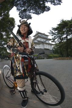 hagakure! #bici#samurai #giappone