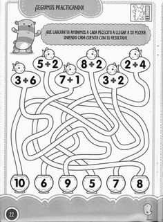 Learning to Count by Connecting the Dots 1 Through Drawing a Dog Preschool Printables, Preschool Math, Kindergarten Worksheets, Teaching Math, In Kindergarten, Math Activities, First Grade Math Worksheets, Money Worksheets, 1st Grade Math