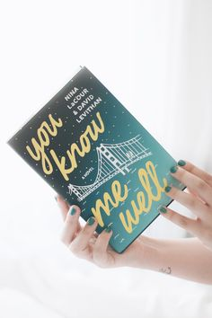 Melina Souza- Serendipity <3 http://melinasouza.com/2016/08/27/you-know-me-well-david-levithan-nina-lacour/ #Book #livro #MelinaSouza