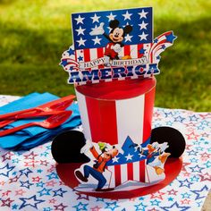 Mickey's Fourth of July Hat | Printables | Spoonful