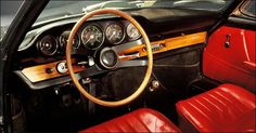 50 years of 911 My Dream Car, Dream Cars, Car Seats, Steering Wheels, Porsche Classic, Car Interiors, Jenna Coleman, Frankfurt, Garage