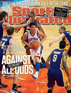 On the Cover: Jeremy Lin, Basketball, New York knicks Photographed by: Heinz Kleutmeier / SI