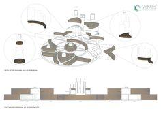 Propuesta de mobiliario para centro comercial