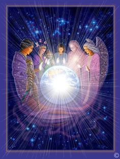 An amazing & varied array of Light Beings are loving and supporting Mother Earth and all her life as we ascend into the higher realms.  If we only knew the magnitude & splendor of who accompanies us we could never be afraid...