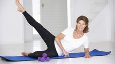 There is no more excuse to skip exercise! You can do simple home workout methods to keep you fit and address menopause symptoms at the same time! Arthritis Exercises, Rheumatoid Arthritis Symptoms, Fibromyalgia, Skinny Calves, Easy At Home Workouts, Butt Workouts, Exercise Workouts, Workout Dvds, Physical Therapy