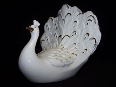 Ruby Lane Antique Ceramic Peacocks | 711.1L.jpg
