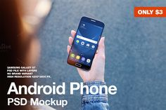 Android Galaxy S7 Mockup by JÉSHOOTS.com on @creativemarket