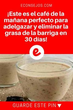 This is the perfect morning coffee to lose weight and eliminate belly fat in 30 days! Mexican Food Recipes, Diet Recipes, Vegan Recipes, Smoothie Recipes, Smoothies, Flat Belly Drinks, Fitness Inspiration, Kefir, Detox Tea