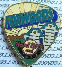 Hard Rock Foxwoods Postcard Pick Series Grand Pequot Tower Le Pin 2012 | eBay