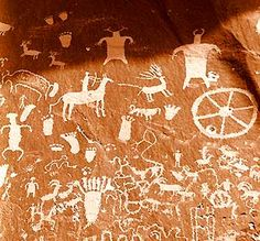 Native American Indian Rock Art | Pictographs and Petroglyphs | Rock carvings and paintings