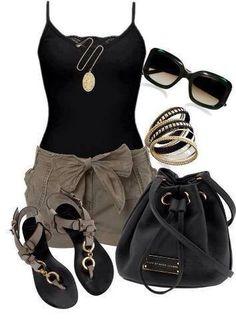 Combinaciones de ropa.