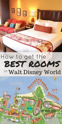 Get the BEST rooms at Walt Disney World with room requests, guaranteed categories, and more tips and tricks. #disneyworld #familytravel