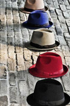 coool..fedora hats :)