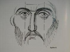 Byzantine Art, Byzantine Icons, Religious Icons, Religious Art, Writing Icon, Jesus Drawings, History Icon, Church Icon, Christian Paintings