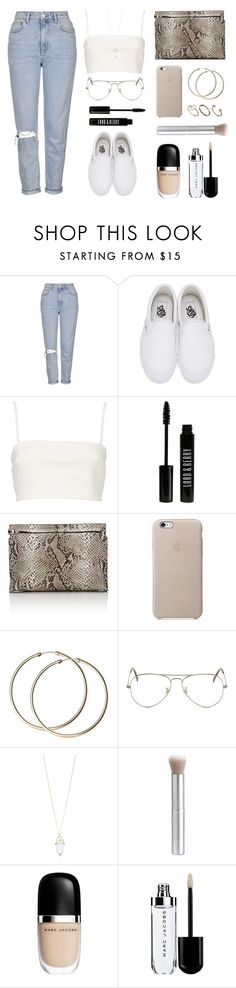 """Snake clutch"" by baludna ❤ liked on Polyvore featuring Topshop, Vans, Witchery, Lord & Berry, Loewe, Ray-Ban, Accessorize, rms beauty, Marc Jacobs and ASOS"