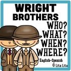 This is a 'fold and learn' about the Wright Brothers as a inventors.  It includes a foldable with the questions: Who? Where? When? What? After comp... Bilingual Classroom, 2nd Grade Classroom, Hermanos Wright, Bottle Buddy, Jackson School, North Carolina History, Teaching Reading, Learning, 4th Grade Social Studies
