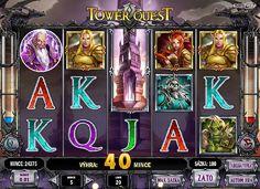 Získajte svoj poklad už dnes! Výherné automaty Tower Quest je nová hra od spoločnosti Play´n Go, ktoré sú založené na známej kartovej hre, ktorej postavy bojujú proti sebe. http://www.hracie-automaty.co/sloty/vyherne-automaty-tower-quest  #HracieAutomaty #VyherneAutomaty #Jackpot #Vyhra #TowerQuest