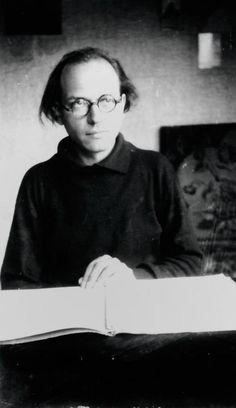Olivier Messiaen à Petichet en 1946 et notations de chants d'oiseaux, carnet manuscrit, Bnf, Musique, fonds Olivier Messiaen.