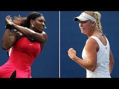 {US OPEN 2014 - LIVE} Serena Williams vs. Caroline Wozniacki Live Stream... Mlb Games, Caroline Wozniacki, Serena Williams, Espn, Free Games, Mens Sunglasses, Music, Youtube, Musica