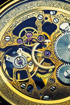 Antique Pocket Watch Gears by Garry Gay - Antique Pocket Watch Gears Photograph - Antique Pocket Watch Gears Fine Art Prints and Posters for Sale