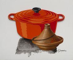 Loeritha Saayman Le Clayset Mixed media on board x Mixed Media Artists, Painting & Drawing, Board