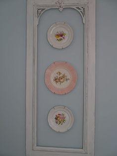 Plates on wall/might also be nice with interior of framed area painted a second color.. Dining Room Pictures For Walls | Modern Dining Room Ideas | Dining Room Trends 2017. #interiorinspiration #Repaint Restore Refurbish.   To view further for this article, visit the image link.