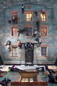 leandro erlich takes his optical illusions to shanghai