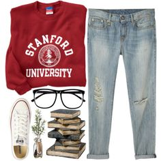"""Stanford"" by nadiasxox on Polyvore"