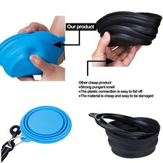 Collapsible Dog Bowl, Garden Hose, Dog Bowls, Easy