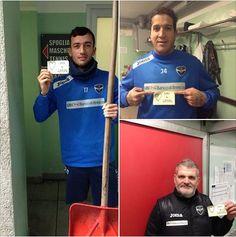 Anche i calciatori del Brescia Calcio sono con noi! grazie di cuore per il vostro sostegno ad #Appiccicami e per i vostri sms al 45504 a sostegno dei bambini cardiopatici. Siete grandi davvero!