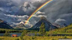 after the rain montana landscape trees lake Tornados, Montana Landscape, Landscape Mode, Rainbow Images, Types Of Fairies, Destinations, Rainbow Sky, Rainbow Colors, Rainbow River