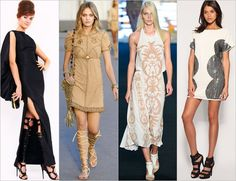 Gladiator sandals with dresses