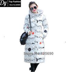 New Wadded Winter Long Jacket Women Cotton Jacket Fashion 2017 Girls Padded Slim Plus Size Hooded Parkas Female Coat 4 Color #Affiliate