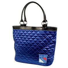 New York Rangers NHL Quilted Tote (Royal)