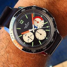 last ig wrist shot for 2014, one of my favorite Breitlings - the '69 Co-Pilot Yachting. | Use Instagram online! Websta is the Best Instagram Web Viewer!