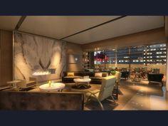 k-residence-05.jpg 2,200×1,133 pixels   living room design   pinterest - Weis Braunes Innendesign Dachwohnung