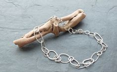 Silver chain necklace Sylvia Quinnell www.gallery57.co.uk
