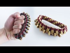 How to Make a Paracord Knuckle Duster Tutorial | Paracord Knuckles - YouTube