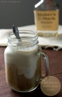 Bourbon Root Beer Float | Sweet Remedy