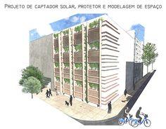 """Check out new work on my portfolio: """"Captador e protetor solar…"""