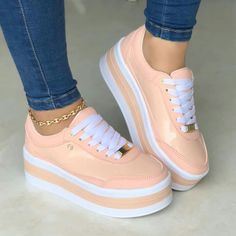 Printing Ideas Videos Elementary Players Tips Info: 7792764721 Cute Sneakers, Cute Shoes, Me Too Shoes, Shoes Sneakers, Shoes Heels, Nike Wedge Sneakers, Dream Shoes, New Shoes, Sock Shoes