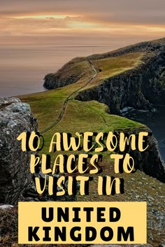 There are so many beautiful places to visit in the United Kingdom. So we have made a list for you with 10 of the best places to visit in the UK.   #backpackinguk #traveluk