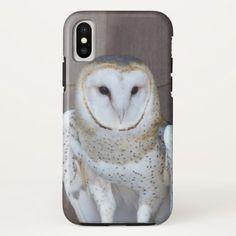 Barn Owl Photo iPhone X Case - photos gifts image diy customize gift idea